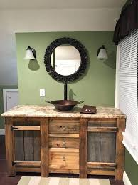 distressed wood bathroom vanity reclaimed vanities low cost in rustic and cabinets for