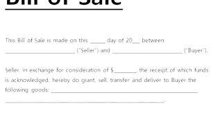 Copy Bill Of Sale Bill Of Sell Template Auto Sale Ohio Blank Copy L Free Form
