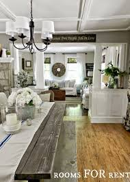 country style living rooms. Rustic Farmhouse Or Country Style Dining And Living Room. The Best Paint Colours From Sherwin Williams Rooms L