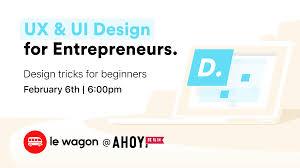 Ui Ux Design Course Berlin Ux Ui Design For Entrepreneurs Startup Calendar