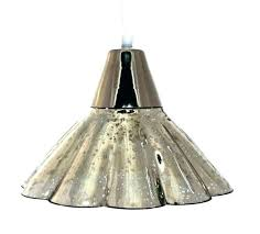 mercury glass lamp shade chandelier shades plus fresh blue gl