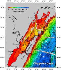 Little Bay De Noc Depth Chart Little Bay De Noc Topographic Map Zip Code Map