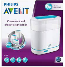 Philips Avent 3 in 1 Electric Steam Sterilizer With 2 Years Warranty  (SCF285/01) - Kulily.com