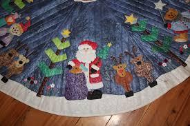 Christmas: Fabulous Santa Tree Skirt. Beach Santa Tree Skirt ... & Full Size of Christmas: Christmas Tree Skirt Patterns Happy Holidays  Fabulousta Beach Skirtbucilla Kitdiy: ... Adamdwight.com