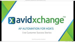 On Demand Webinar Customer Success Ap Automation For Hoa