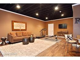 painted basement ceiling ideas thevpillguidecom