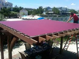 fabric patio covers waterproof. Modren Patio Waterproof Pergola Covers Pink Fabrics Layers Decorate And Wooden Design  Materials Stylish Create Unique Modern Simple Intended Fabric Patio