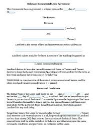Tenancy Agreement Letter From Landlord Luxury Sample Commercial ...