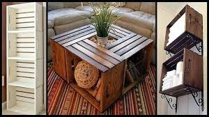 wood crate furniture diy. Wood Crate Furniture Wooden Ideas Diy