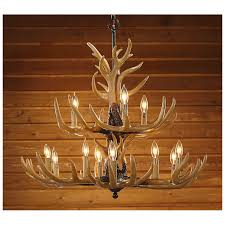 cabin lodge style decor antler chandelier ideal for bedrooms