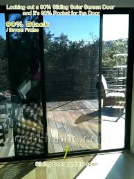 sliding glass door privacy tint privacy window
