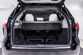 Armored Toyota Sienna For Sale - INKAS Armored Vehicles ...