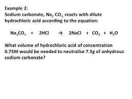 sodium carbonate hydrochloric acid molecular equation jennarocca