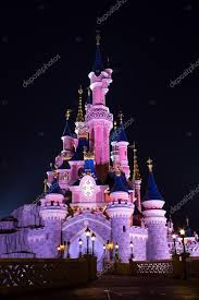 disneyland paris castle at night paris