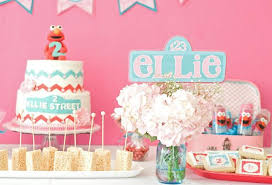 Karas Party Ideas Girly Elmo Party Planning Ideas Cake Idea