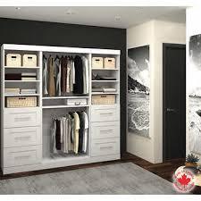 walk in closet organizer. Delighful Walk Bestar  Boutique White Stowaway Closet Inside Walk In Organizer