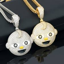 miss jewelry high quality new design hip hop iced out customize pendant gold 18k hip hop