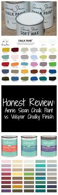 Honest Review Valspar Chalky Finish Vs Annie Sloan Chalk