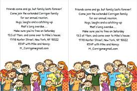 Family Reunion Flyer Templates Free Reunion Invitation Template Family Reunion Flyer Template Free