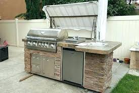 outdoor kitchen barbecue grill island kits gas gills and outdoor kitchen frame kits island kits grill