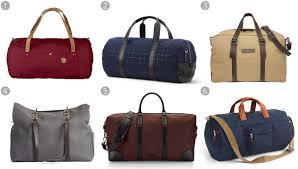 Best Mens Weekend Bags 2015 - Bloomberg & Duffel no.4 large, Fjallraven, $170, fjallraven.com; Quilted tech Adamdwight.com