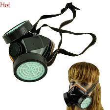 2018 2016 new hot spray respirator gas mask protect anti dust mists metallic fumes chemical paint dust spray face mask 2 filter cartridge tk0856 from