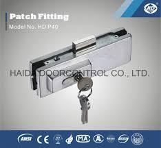 china glass door lock glass door clamp