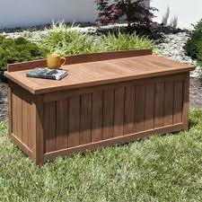 plastic outdoor storage bench unique waterproof garden cushion box bin kmart wa