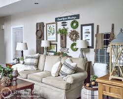 sofa table behind couch against wall. Rustic Gallery Wall Sofa Table Behind Couch Against C