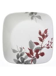 Набор <b>тарелок</b> закусочных 22см Kyoto <b>Leaves</b> (4шт) Corelle ...