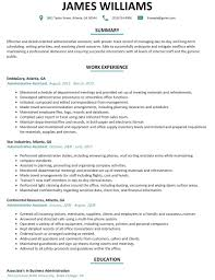 Example Of Executive Assistant Resume Sample Executive Assistant Resume Sample Executive Assistant Resume 12