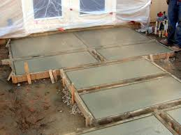 Stamped Concrete Kitchen Floor How To Stamp And Color Concrete Steppers How Tos Diy