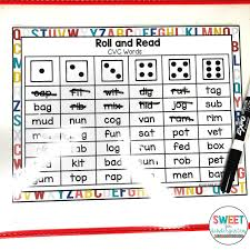 These are considered the simplest words and the starting point of many phonics programs (after some work on initial sounds). Four Activities To Practice Building Cvc Fluency Sweet For Kindergarten