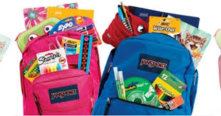 Image result for backpack with supplies