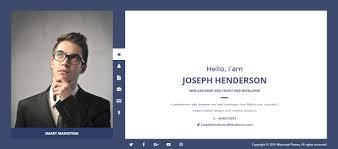 Beautiful Design Personal Resume Website Resume Websites Examples