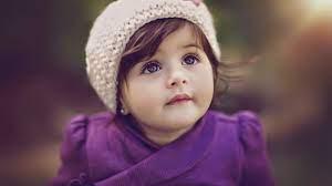 Cute baby girl ...