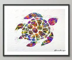 turtle wall art diy original watercolor sea turtle canvas painting pop wall art poster print pictures turtle wall art sea  on lovely sea turtle wall art with turtle wall art turtle metal wall art choices of sea turtle metal