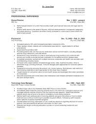 Account Manager Resume Objective Best of Resume For Management Position Resume For Retail Management Position