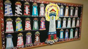Be The Light Bulletin Board Gr 2 Lighthouses For Jesus Cornerstone Christian School