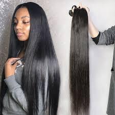 3 or 4 Bundles Royal Brazilian Virgin Hair Posh Straight--Virgin Human Hair  Extensions , Virgin Hair Fantasy – Dyhair777.com