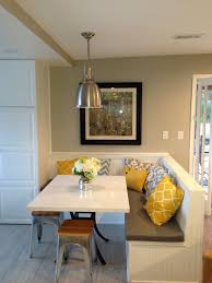 Corner breakfast nook furniture contemporary decorations Space Saving Benches Under Window And To Right up To Iron Board Love That The Benches Tuck Under Pinterest Best Modern Kitchen Design Kitchen Layout Ideas Kitchen Kitchen