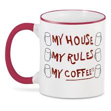 <b>3D кружка Printio</b> My House, my Rules, my <b>Coffee</b> #3452618 ...