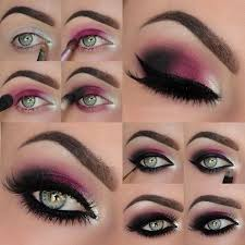 dark red violet is a beautiful colour that is going to make your eyes pop like