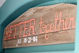 diy hand painted rustic wood sign for the bedroom