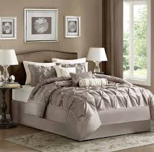 Taupe Bedroom Decorating Bedroom Design Wonderful 8 Piece Taupe Comforter Set With