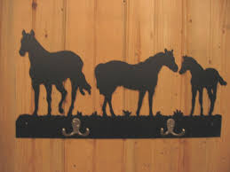Horse Coat Rack Coat Racks Montana Metal 45