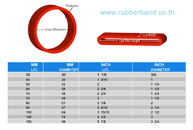 Rubber Band Sizing Chart Bedowntowndaytona Com
