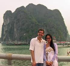 0 Adam & Luong in Ha Long Bay | 2koolkruisers - Cruisin' the World!