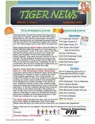 123 Best Newsletter Samples Images Pta School School Fundraisers
