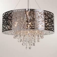suspended decorative lattice style light shade ceiling lighting litecraft